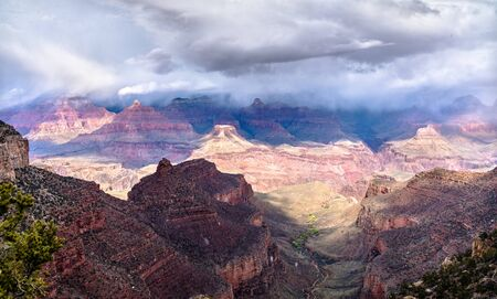 Snowstorm in Grand Canyon