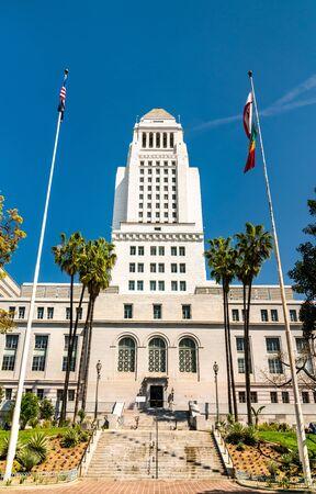 Los Angeles City Hall in California