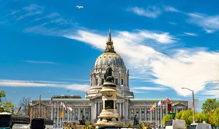 The City Hall of San Francisco in California, United States