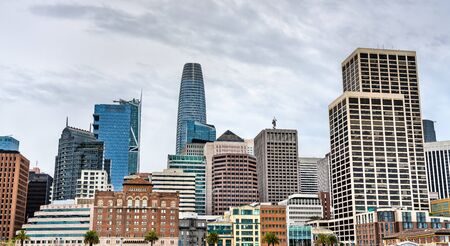 Panorama of Downtown San Francisco - California, United States