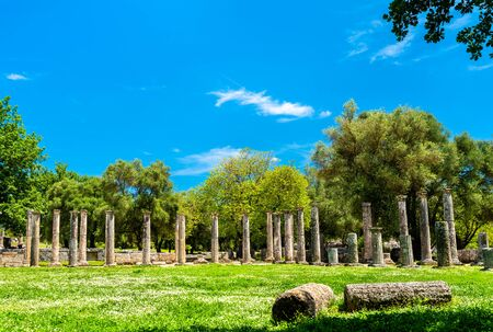 Archaeological Site of Olympia, in Greece