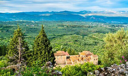 Saint Dimitrios Orthodox Metropolis at Mystras. in Greece