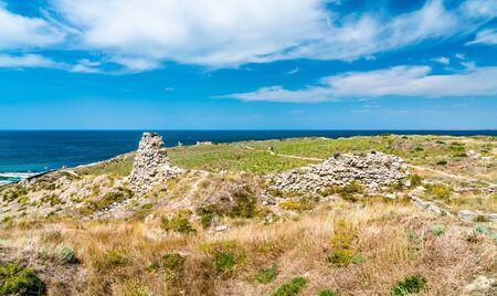 Ruins of Chersonesus, an ancient greek colony in nowadays Sevastopol, Crimea