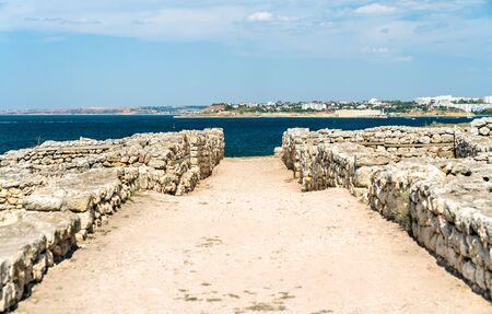 Ruins of Chersonesus, an ancient greek colony in nowadays Sevastopol, Crimea
