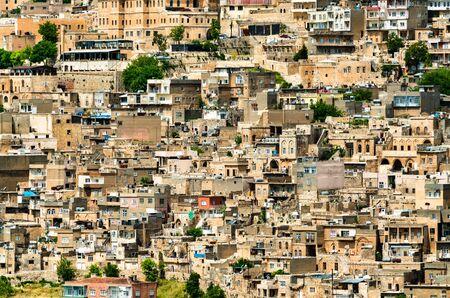The old city of Mardin in Turkey