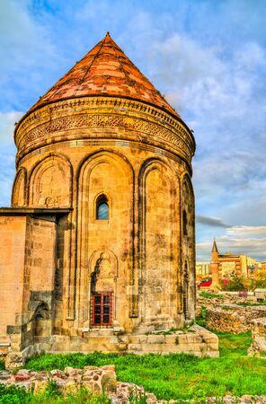 Twin Minaret Madrasa in Erzurum, Turkey