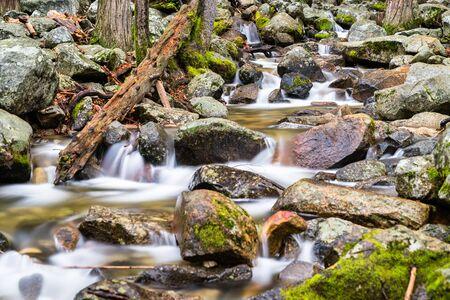 Bridalveil Creek in Yosemite National Park - California, United States Stok Fotoğraf