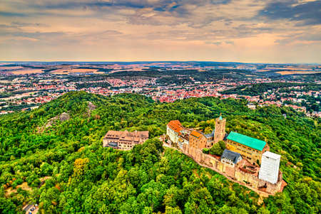 Wartburg Castle in Eisenach - Thuringia, Germany Editorial