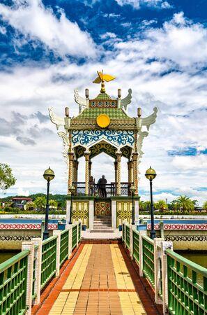 Royal Barge of Omar Ali Saifuddin Mosque in Bandar Seri Begawan, Brunei