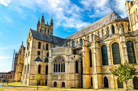 The Cathedral of Canterbury in Kent, England Stok Fotoğraf