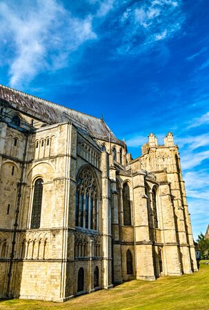 The Cathedral of Canterbury in Kent, England