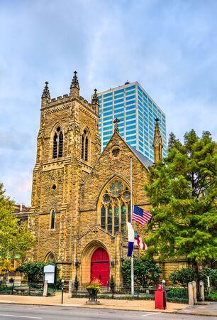 Trinity Episcopal Church in Columbus, Ohio Stock Photo