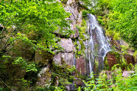 Nideck Waterfall in the Vosges Mountains