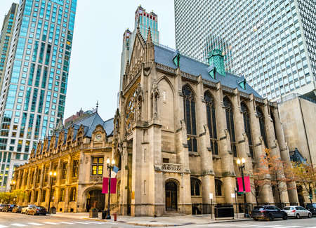 Saint James Chapel in Downtown Chicago, United States