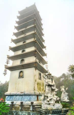 Linh Phong Stupa at Ba Na Hills in Vietnam