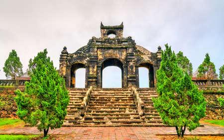 The Temple of Literature in Hue, Vietnam
