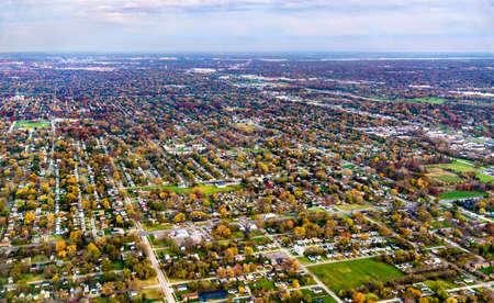 Suburban area near Detroit, USA