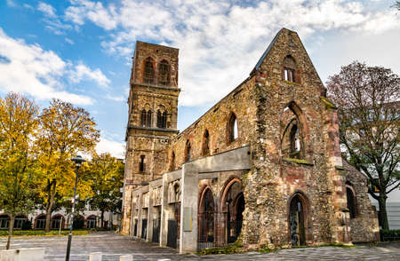 Ruins of St. Christoph Church in Mainz, Germany