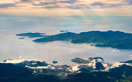 Aerial view of Mangaratiba, the state of Rio de Janeiro in Brazil Reklamní fotografie