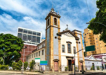 Church of Our Lady of Lapa do Desterro in Rio de Janeiro, Brazil