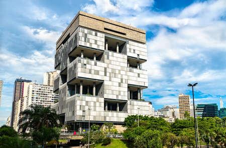 Architecture of downtown Rio de Janeiro, Brazil