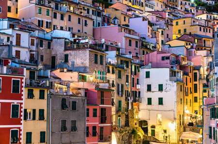Riomaggiore village at the Cinque Terre, Italy