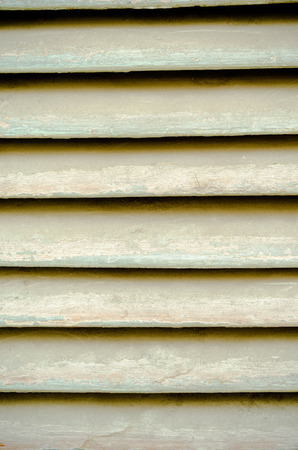 louver: old grunge wooden louver texture and background. Stock Photo