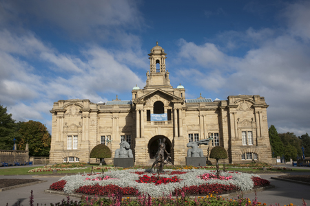 Cartwright Hall Art Gallery in Lister Park, Manningham, Bradford, West Yorkshire, UK in October 2013