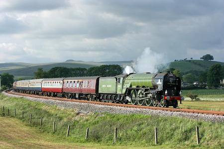 A1 Steam Locomotive Tornado with a Carlisle to Crewe Railtour - Hellifield, Yorkshire, United Kingdom - 24th June 2010 報道画像