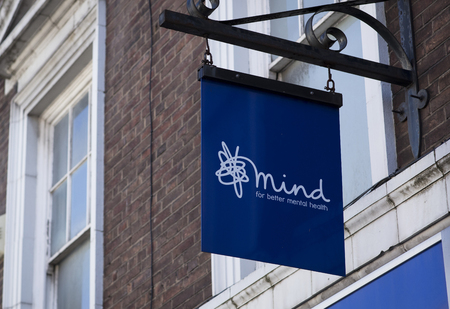Mind Mental Health charity shop, Lincoln, Lincolnshire, UK - 5th April 2018 Editorial