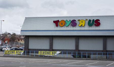 Logo of Toys R Us Derby, Derbyshire, UK - 3rd April 2018