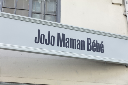 Sign for JoJo Maman Bebe in York, Yorkshire, United Kingdom - 4th August 2018