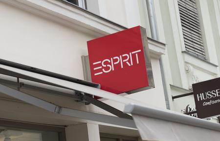 7c4c9d22 Potsdam, Berlin, Europe: 20th August 2018: Esprit Store sign