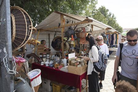 Berlin, Germany; 20th August 2018; Mauerpark Flea Market Sajtókép