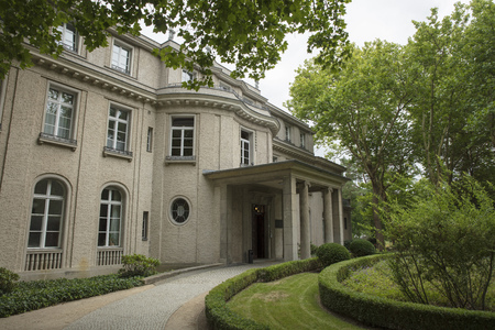 Wannsee, Berlin, Germany; 23rd August 2018; Wannsee Villa Editorial