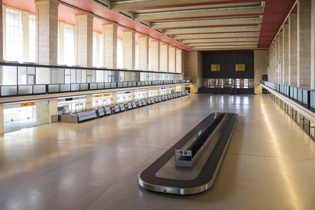 Berlin, Germany, August 2018; The Former Berlin Tempelhof Airfield