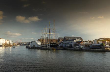 Bristol, UK, 23rd February 2019, Isambard Kingdom Brunels SS Great Britain
