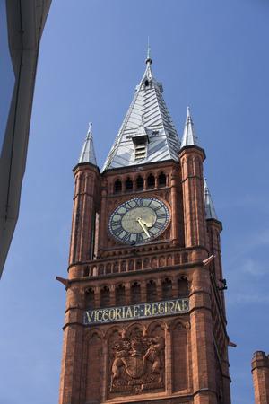 Liverpool, Merseyside, UK - 24th June 2014, the Victoria Gallery & Museum - Victoria Building, University of Liverpool