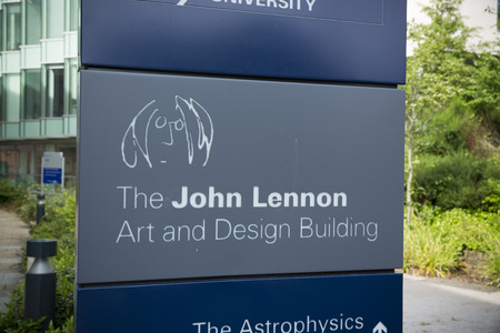 Liverpool, Merseyside, UK, 24th June 2014, the John Lennon Art & Design Building home to Liverpool John Moores Universitys School of Art and Design