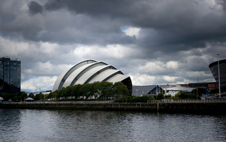 Glasgow, Scotland, 7th September 2013, the SEC Clyde Auditorium also known as the SEC Armadillo