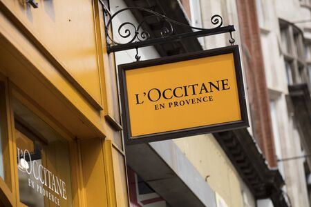 London, United Kingdom, 17th July 2019, LOccitane en Provence Sign in central london