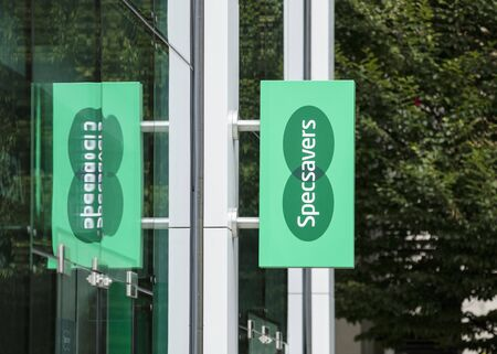 London, United Kingdom, 17th July 2019, Specsavers Sign