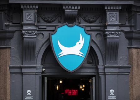 London, United Kingdom, 17th July 2019, Brewdog Sign in soho