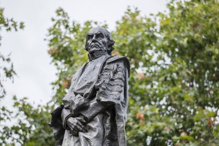 London, United Kingdom, 17th July 2019, Statue of Former prime minister William Gladstone