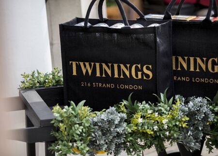 London, United Kingdom, 17th July 2019, Twinings Tea Shop on the strand