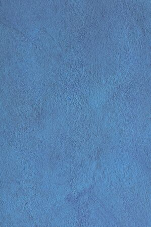 Blue cyan Textured Rendered Wall - Stucco  Fresco effect with small ripples and chips