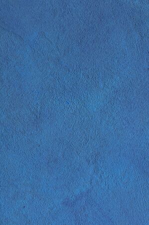 Blue cyan Textured Rendered Wall - Stucco / Fresco effect with small ripples and chips Stok Fotoğraf - 131730814