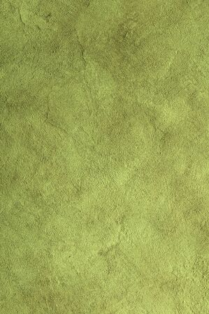 Lime green Textured Rendered Wall - Stucco / Fresco effect with small ripples and chips Stok Fotoğraf - 131729926