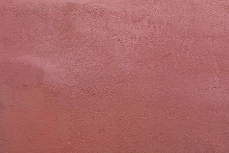 Pink Textured Rendered Wall - Stucco  Fresco effect with small ripples and chips