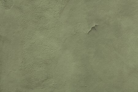 Green Light Textured Rendered Wall - Stucco  Fresco effect with small ripples and chips